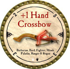 +1 Hand Crossbow - 2010 (Gold)