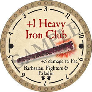 +1 Heavy Iron Club - 2017 (Gold)