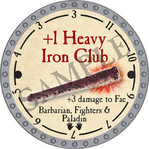 +1 Heavy Iron Club - 2017 (Platinum)