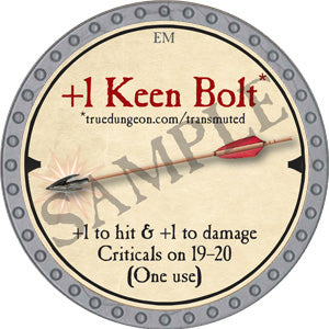 +1 Keen Bolt - 2019 (Platinum)
