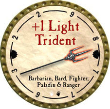 +1 Light Trident - 2011 (Gold)