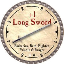 +1 Long Sword - 2007 (Platinum)