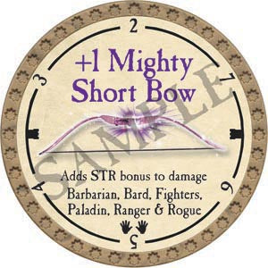 +1 Mighty Shortbow - 2020 (Gold)