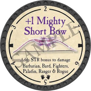 +1 Mighty Shortbow - 2020 (Onyx)