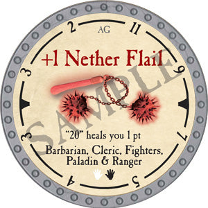 +1 Nether Flail - 2019 (Platinum)