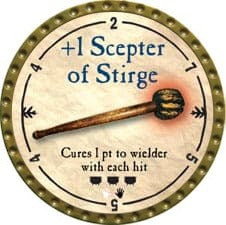 +1 Scepter of Stirge - 2009 (Gold)