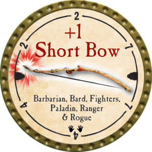 +1 Short Bow - 2014 (Gold)