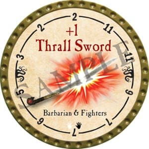 +1 Thrall Sword - 2016 (Gold)