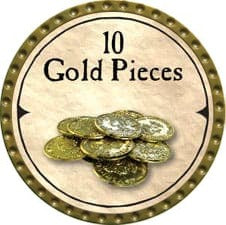 10 Gold Pieces (C) - 2007 (Gold)