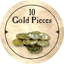 10 Gold Pieces (C) - 2006 (Wooden) - C26