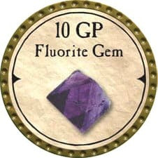 10 GP Fluorite Gem - 2007 (Gold)