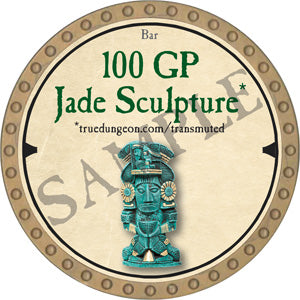 100 GP Jade Sculpture - 2019 (Gold)