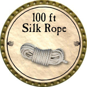 100 ft Silk Rope - 2012 (Gold)