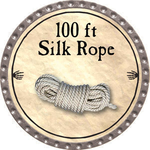 100 ft Silk Rope - 2012 (Platinum)
