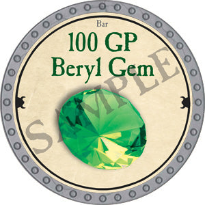 100 GP Beryl Gem - 2018 (Platinum)