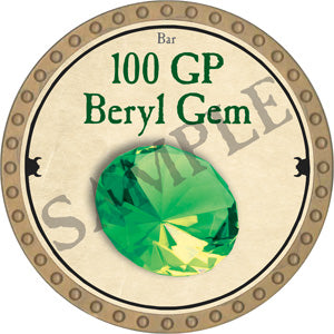 100 GP Beryl Gem - 2018 (Gold)