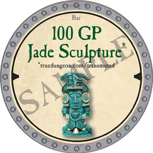 100 GP Jade Sculpture - 2019 (Platinum)