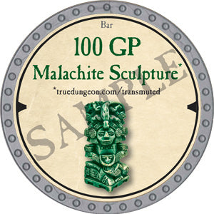 100 GP Malachite Sculpture - 2019 (Platinum)