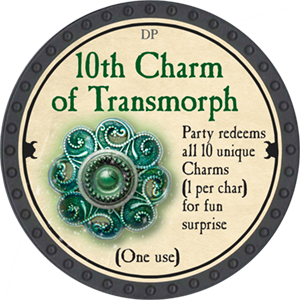 10th Charm of Transmorph - 2018 (Onyx) - C36