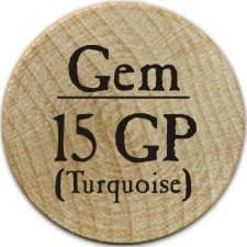 15 GP (Turquoise) - 2005a (Wooden)
