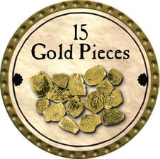 15 Gold Pieces (C) - 2011 (Gold)