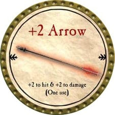 +2 Arrow - 2009 (Gold) - C49