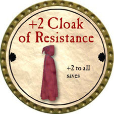 +2 Cloak of Resistance - 2011 (Gold) - C49