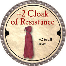 +2 Cloak of Resistance - 2011 (Platinum) - C37