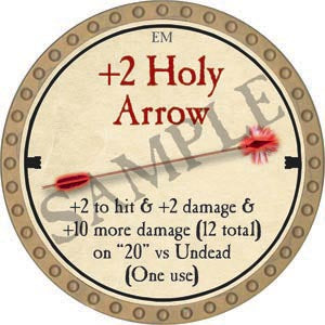 +2 Holy Arrow - 2020 (Gold)