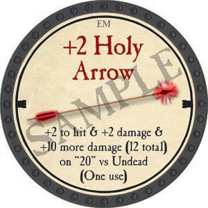 +2 Holy Arrow - 2020 (Onyx) - C37