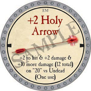 +2 Holy Arrow - 2020 (Platinum)