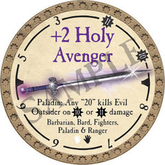 +2 Holy Avenger - 2019 (Gold)