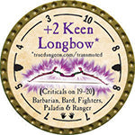 +2 Keen Longbow - 2014 (Gold) - C1