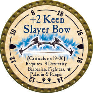 +2 Keen Slayer Bow - 2014 (Gold) - C15