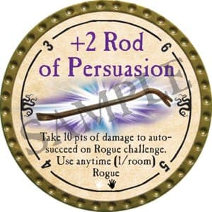 +2 Rod of Persuasion - 2016 (Gold)