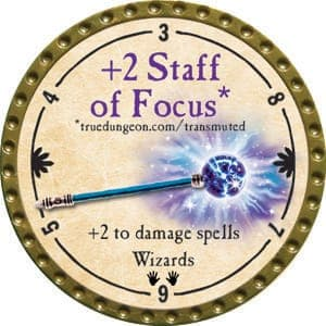 +2 Staff of Focus - 2015 (Gold) - C21