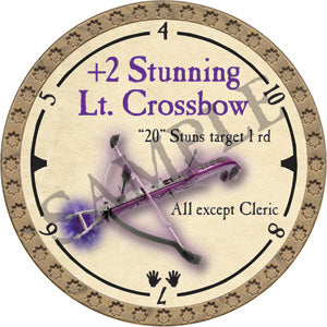 +2 Stunning Lt. Crossbow - 2019 (Gold)