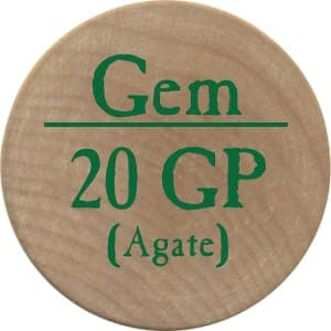 20 GP Agate (UC) - 2004 (Wooden)