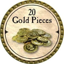 20 Gold Pieces (C) - 2007 (Gold)