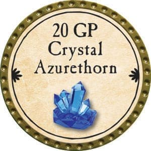 20 GP Crystal Azurethorn - 2015 (Gold)
