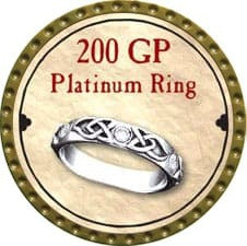 200 GP Platinum Ring - 2008 (Gold)