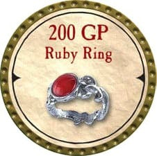 200 GP Ruby Ring - 2007 (Gold)