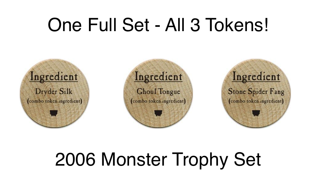 Monster Trophy Set - 2006 (Woodie) - C37