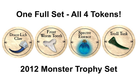 Monster Trophy Set - 2012 (Gold) - C12