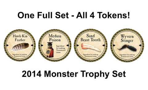 Monster Trophy Set - 2014 - C12