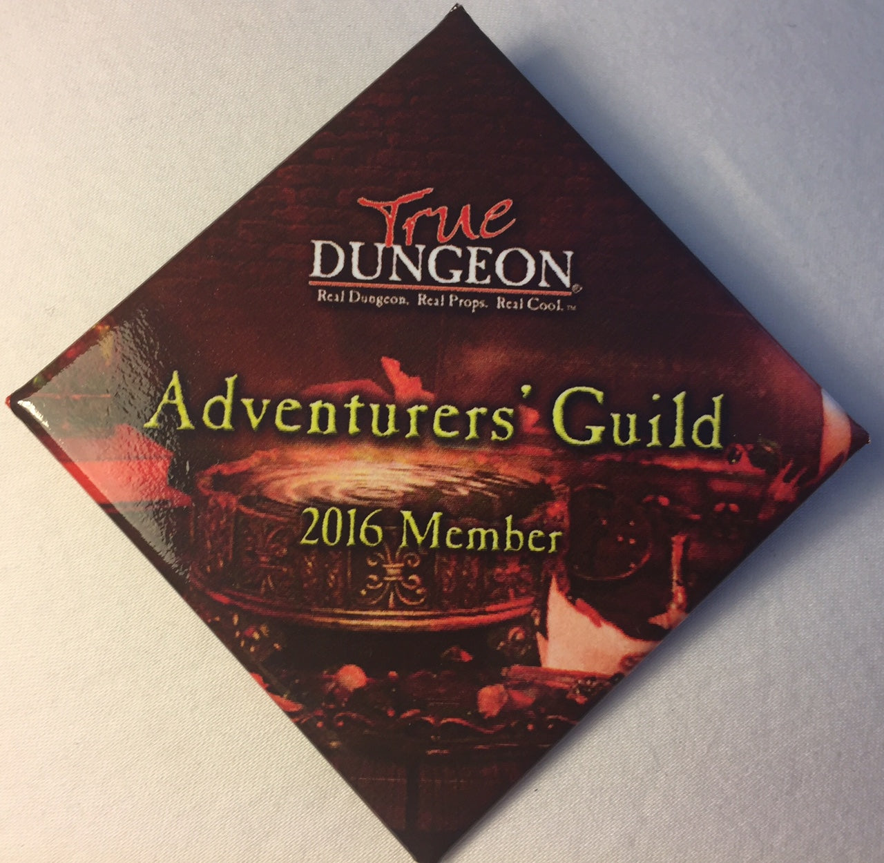 Adventurers' Guild Membership Button - 2016