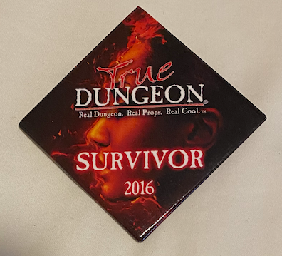 True Dungeon Completion Button (Survivor) - 2016