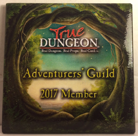 Adventurers' Guild Membership Button - 2017
