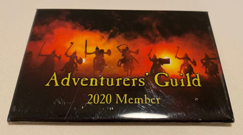 Adventurers' Guild Membership Button - 2020