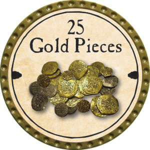 25 Gold Pieces (C) - 2014 (Gold)